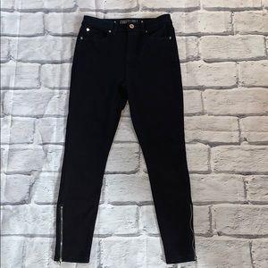 Jennifer Lopez high rise skinny ankle jeans sz 4